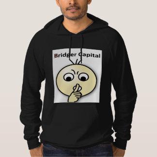 Bridger Capital...Shh (Black Hoodie) Sweatshirt