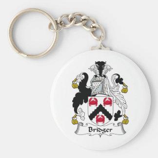 Bridger Family Crest Keychain