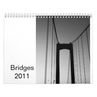 Bridges 2011 wall calendars