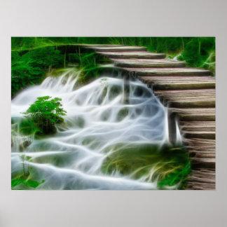 Bridges and Creeks Poster