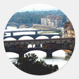 Bridges Classic Round Sticker