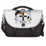 Bridges Family Crest Laptop Messenger Bag