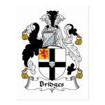 Bridges Family Crest Postcards