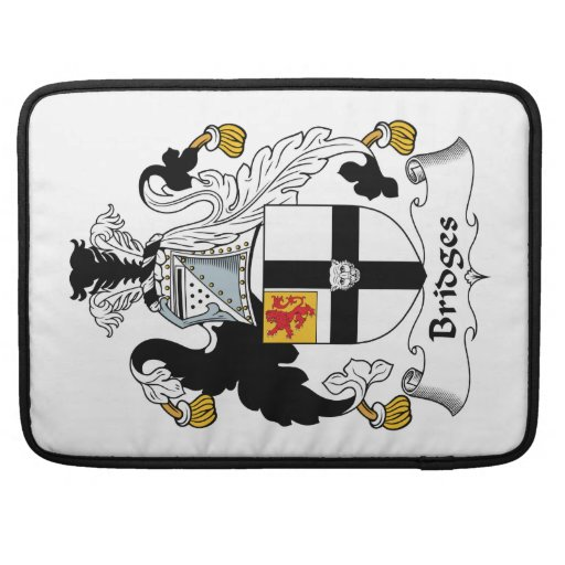 Bridges Family Crest Sleeves For MacBooks