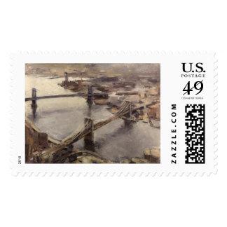 Bridges from WTC New York City Postage