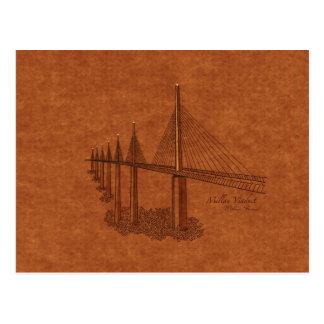 Bridges: Millau Viaduct, France Postcard