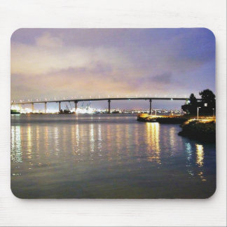 Bridges Night Mousepad