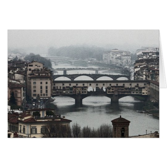 Bridges of Florence, Italy Card