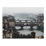 Bridges of Florence, Italy Post Cards