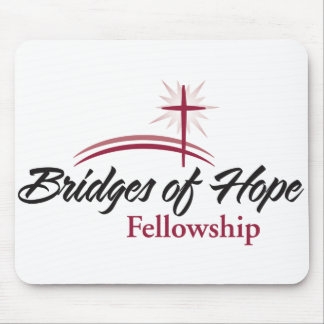 Bridges of Hope Fellowship Logo Mousepad