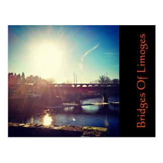 Bridges Of Limoges Postcard