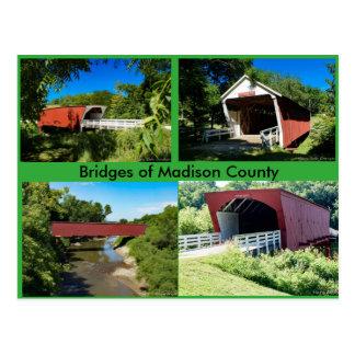 Bridges of Madison County Postcard
