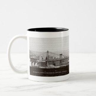 Bridges of New York Mug