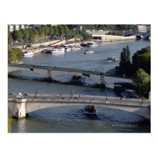 Bridges of Paris Postcard