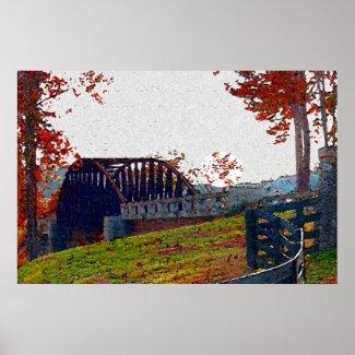 Bridges Of Reflection print