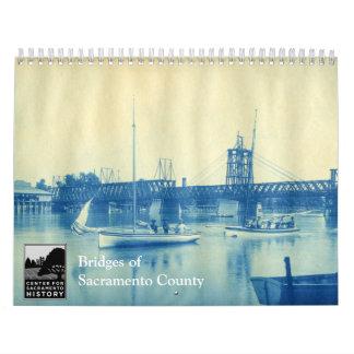 Bridges of Sacramento County Wall Calendar