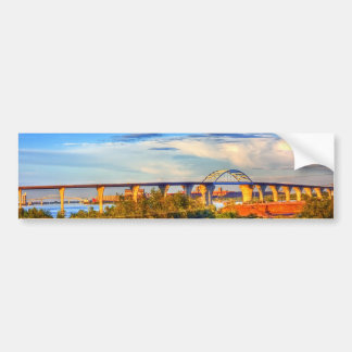 Bridges over the Bay Bumper Sticker