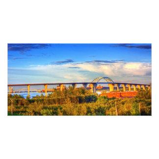 Bridges over the Bay Customized Photo Card