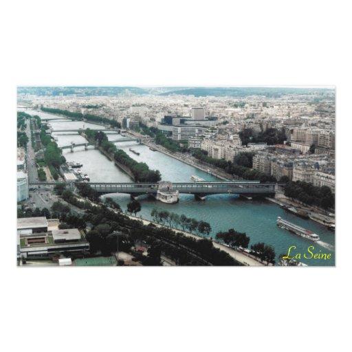 Bridges over the River Seine Art Photo