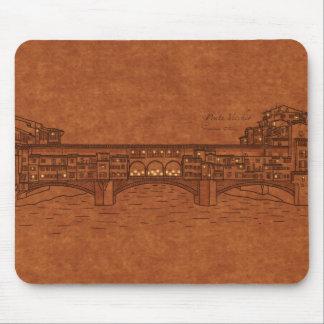 Bridges: Ponte Vecchio Mouse Pad