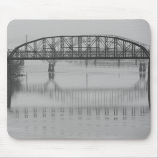 Bridges Reflected on the Susquehanna Mouse Pad