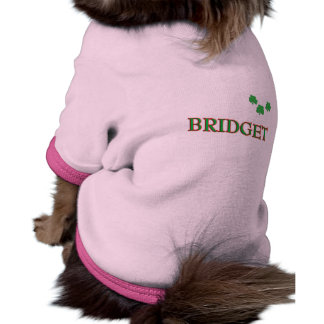 Bridget Custom Name Doggie Tee