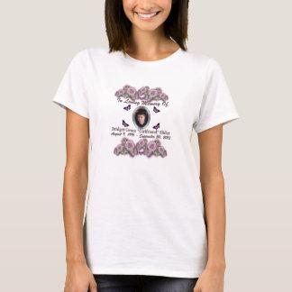 """Bridget Grace """"Girlfriend"""" Slider Memorial Apparel T-Shirt"""