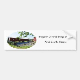 Bridgeton Covered  Bridge and Mill Bumper Stickers