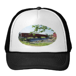 Bridgeton Covered  Bridge and Mill Trucker Hat
