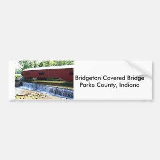 Bridgeton Covered Bridge Bumper Stickers