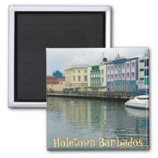 Bridgetown, Barbados Imán Cuadrado