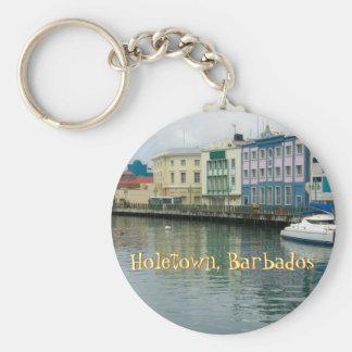 Bridgetown, Barbados Keychain