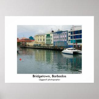 Bridgetown, Barbados poster print