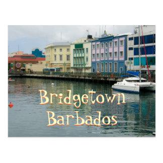 Bridgetown, Barbados Tarjeta Postal
