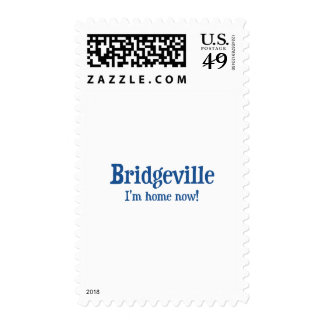 Bridgeville, Delaware: I'm home now! Postage Stamp