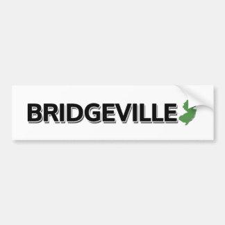 Bridgeville, New Jersey Bumper Sticker