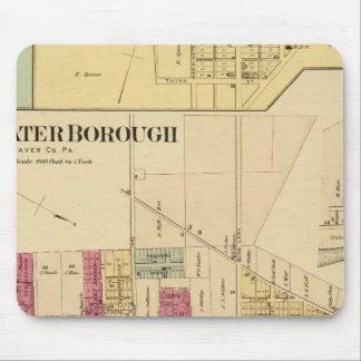 Bridgewater Borough with Shippingport Mouse Pad