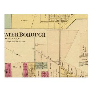 Bridgewater Borough with Shippingport Postcard