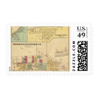 Bridgewater Borough with Shippingport Stamp