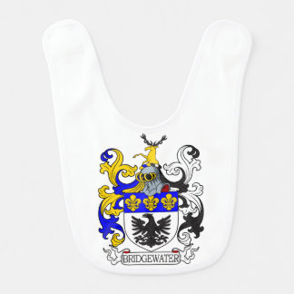 Bridgewater Coat of Arms I Baby Bib