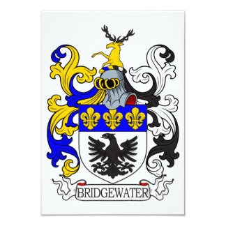 Bridgewater Coat of Arms I Invitation