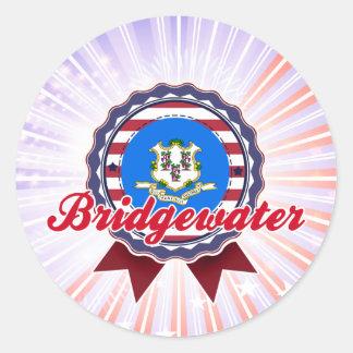 Bridgewater, CT Pegatina Redonda