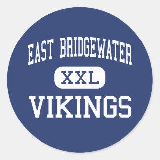 Bridgewater del este - Vikingos - Bridgewater del Pegatinas Redondas