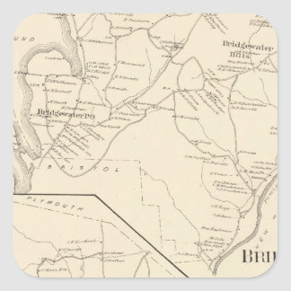 Bridgewater, Hebron Square Sticker