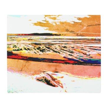 Beach Themed Bridgewater N.S. Risers Beach Abstract metal art