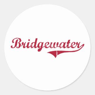Bridgewater New Jersey Classic Design Stickers