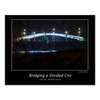 Bridging a Divided City Print