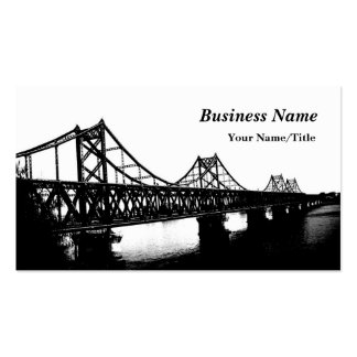 Bridging You And Me Double-Sided Standard Business Cards (Pack Of 100)