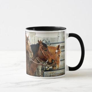 Bridled Horse Heads Mug
