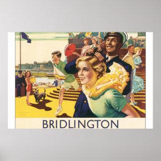 Bridlington_Vintage Travel Poster Artwork